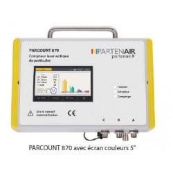 Unité de base et compteurs de particules - PARCOUNT 870
